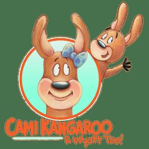 Cami Kangaroo & Wyatt Too Logo